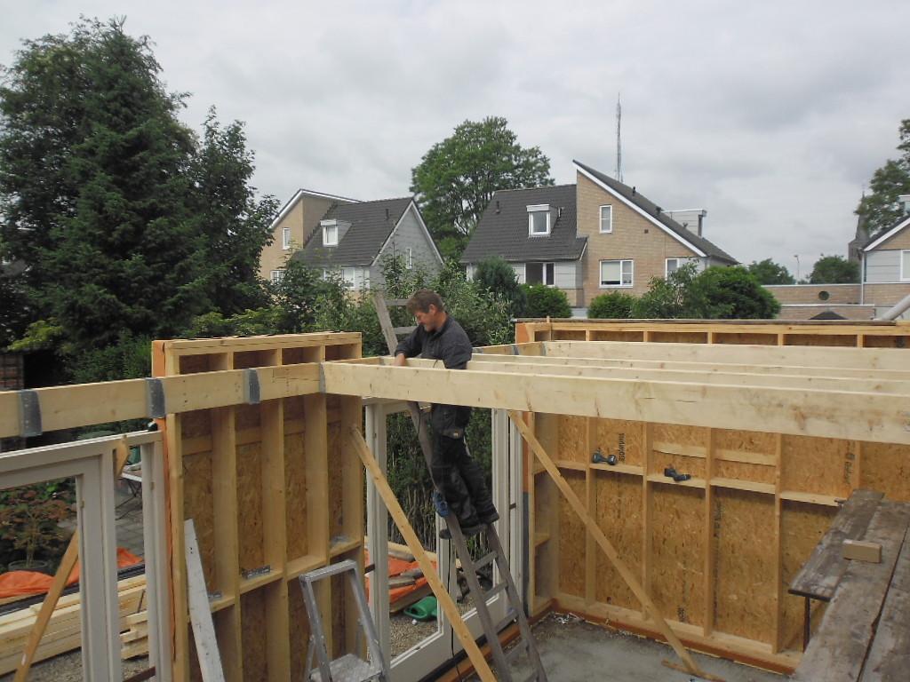 Genoeg Aanbouw Houten Chalet | Bouwbedrijf Mennen TK79